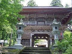 寒河江慈恩寺の仁王門